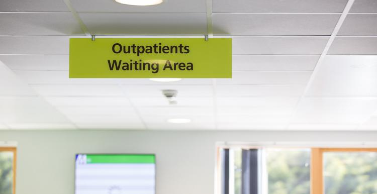 image of outpatients waiting area