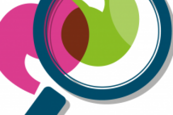 Healthwatch logo with a magnifying glass