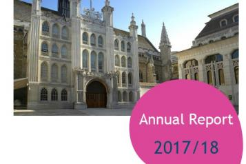 Photo of Guildhall, annual report 2017-18